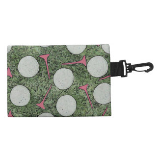 Ladies Clip On Golf Tee Bag Accessories Bag