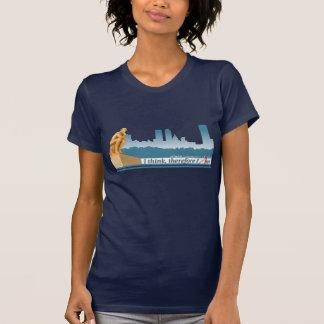 Ladies Dark ACT logo T-shirt
