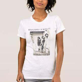 Ladies Distressed CD T-Shirt
