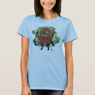 Ladies Fat Head Wolfman T-Shirt