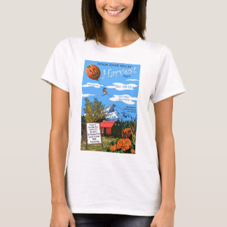 Ladies Fitted Spaghetti T-Shirt