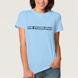 Ladies Fitted Tshirt with The Starrlings Logo