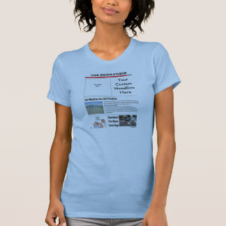 Ladies Fitted Twofer Sheer T Shirt