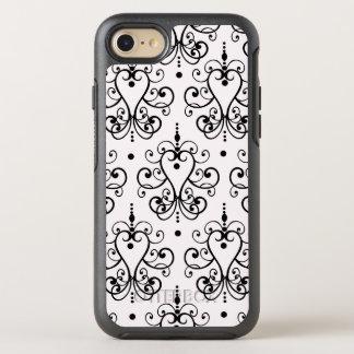 Ladies Floral Damask OtterBox Symmetry iPhone 8/7 Case