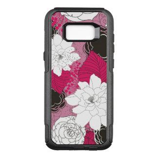Ladies Floral Pattern OtterBox Commuter Samsung Galaxy S8+ Case