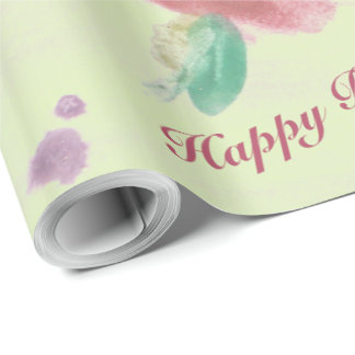 Ladies Flowered Event Welcome Wrapping Paper