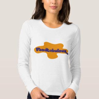Ladies Foodtabulous Long Sleeve T Shirts