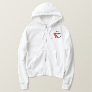 Ladies Freedom Zip Hoodie