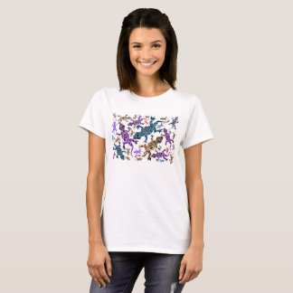 Ladies Gecko Design Tshirt