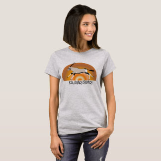 Ladies Gemsbok/Oryx Kalahari design tshirt
