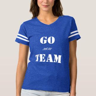 "Ladies' ""Go (Away) Team"" Football Shirt"