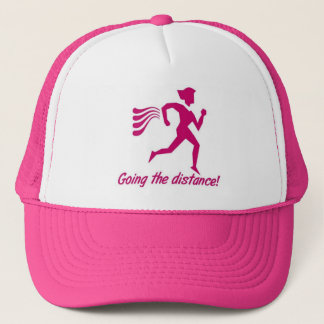 LADIES GOING THE DISTANCE RUNNING CAP