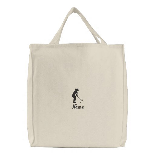 Ladies Golf Tote Bag Embroidered