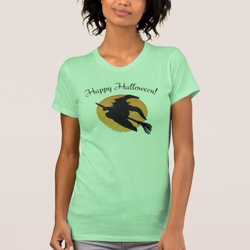Ladies Happy Halloween T-shirt