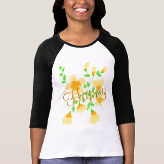 Ladies Happy Tee-shirt T-Shirt