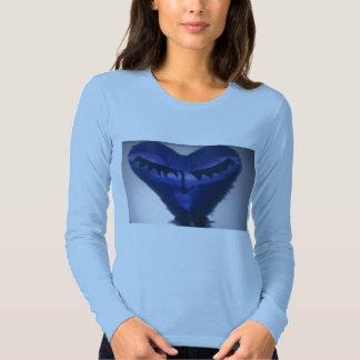 ladies heart  liong sleeve t-shirt