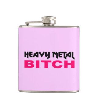 Ladies Heavy Metal Flask