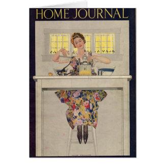 Ladies Home Journal 1920 Card