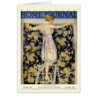 Ladies Home Journal 1921 cover by Coles Phillips Card