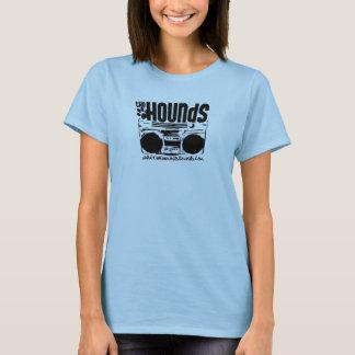 Ladies Hounds Stereo Spaghetti T-Shirt