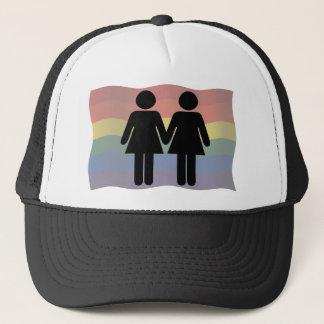 Ladies in love trucker hat
