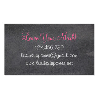 Ladies In Power Pack Of Standard Business Cards