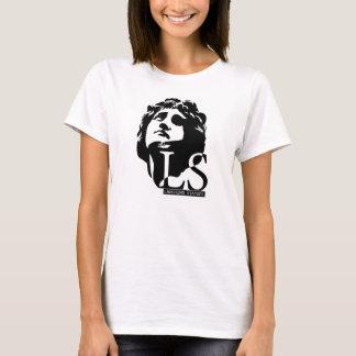 "Ladies LAUGHING STATUES ""hottie"" t-shirt"
