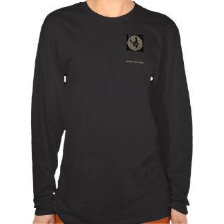 Ladies Long Sleeve Fitted Adorlio Logo Shirt