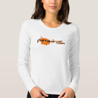 Ladies' Long Sleeve Fitted Logo Shirts
