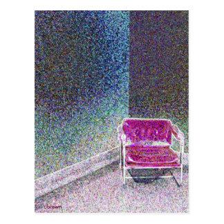 Ladies Lounge Postcard