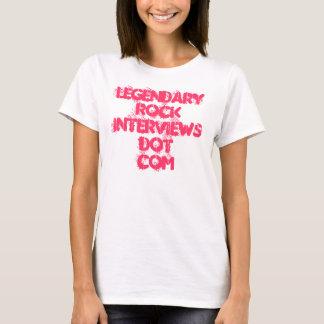 """Ladies LRI  distressed """"babydoll"""" T T-Shirt"""