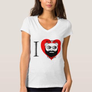 Ladies LUV Bearded Teddy T-Shirt