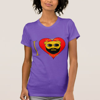 Ladies LUV Bearded Teddy T-Shirt