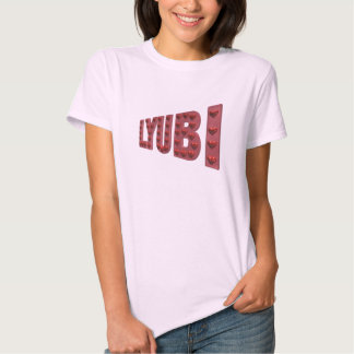 Ladies Lyubi Fitted Baby Doll T-shirt