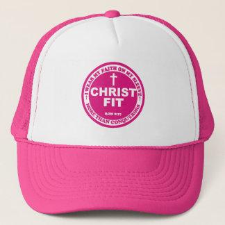 Ladies' magenta pink Christ Fit cap