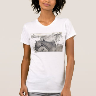 Ladies Mare and Foal T-Shirt