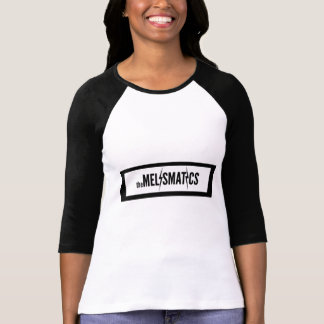 Ladies Melismatics Logo 3/4 Sleve Raglan T-Shirt