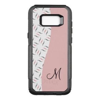 Ladies Modern Monogram OtterBox Commuter Samsung Galaxy S8+ Case