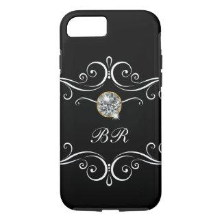 Ladies Monogram Bling iPhone 8/7 Case