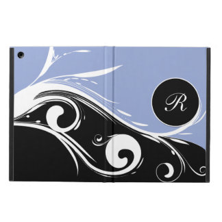 Ladies Monogram Floral Design iPad Air Case