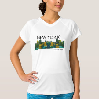 "Ladies ""New York"" Activewear Shirt"