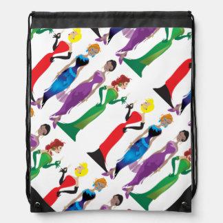 Ladies' Night Drawstring Backpack