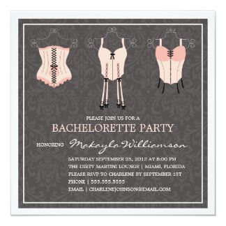 LADIES NIGHT LINGERIE | BACHELORETTE PARTY INVITE