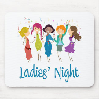 Ladies' Night Mouse Pad