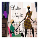 Ladies Night Party Personalized Invite