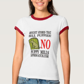 Ladies No Puppy Mills T-Shirt