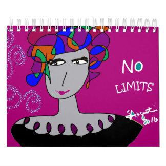 LADIES OF COLOR CALENDAR - NO LIMITS