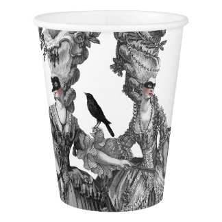 Ladies of The Halloween Ball Paper Cup