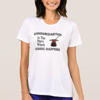Ladies Performance Micro-Fiber t-shirt KinderMagic