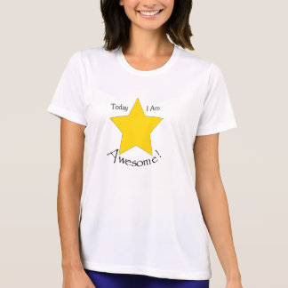 Ladies Performance Micro-Fiber T-Shirt, White Tees